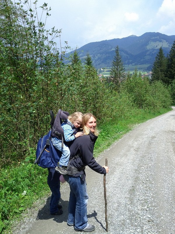 Katja mit Amelie