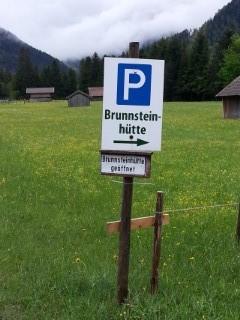 Parkplatz Brunnsteinhütte
