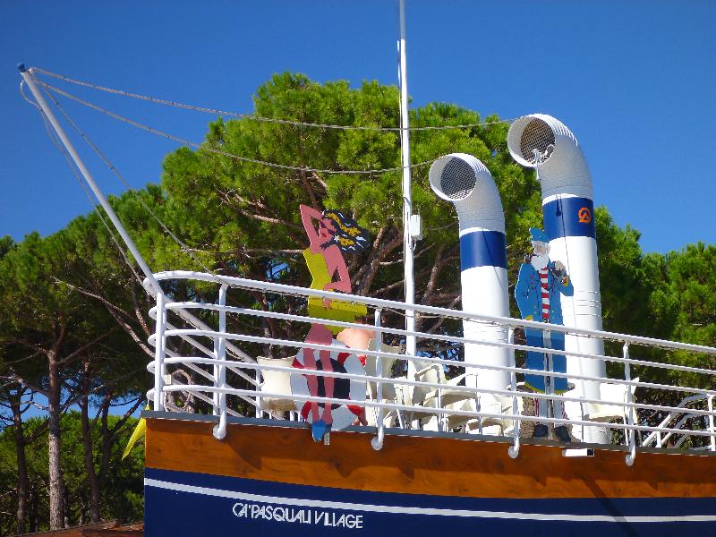 Italien Urlaub 2012 – Ca Pasquali in Cavallino Treporti – ein Traum mit Kindern