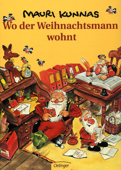 Buchtipp zur Weihnachtszeit – Wo der Weihnachtsmann wohnt